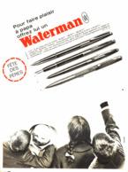 """PUB STYLO  """"  WATERMAN   """"  1963 (29) - Zonder Classificatie"""