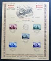 Belgique - Belgium - Yvert 466-470 - Scott#B209-B213 - Léopold En Avion - Foire D'Ostende - Souvenir Cards