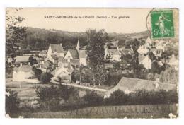 SAINT GEORGES DE LA COUEE  VUE GENERALE - France