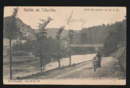 VALLEE DE L'OURTHE  PONT DE CHEMIN A SY - Ferrieres