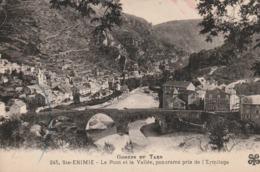Lozère - STE ENIMIE - Le Pont Et La Vallée, Panorama Pris De L' Ermitage  - Non écrite - France