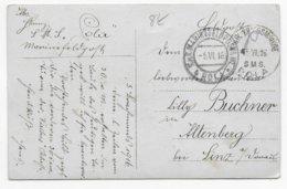 1916 - MARINE AUTRO-HONGROISE - CP PHOTO (AU DOS) KuK KRIEGSMARINE Du SMS POLA à POLA => LINZ - 1850-1918 Empire