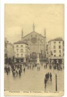 PIACENZA - CHIESA S. FRANCESCO - MON. ROMAGNOSI - Piacenza