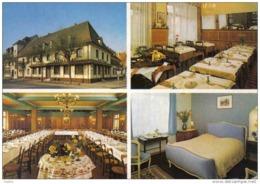 """Carte Postale 68. Ostheim  Hotel-Restaurant """"Au Nid De Cigognes""""  Mr. Utzmann Prop.   Très Beau Plan - Non Classés"""