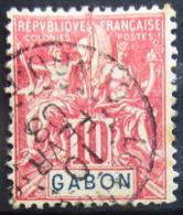 GABON                    N° 20                 OBLITERE - Used Stamps