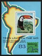 Vietnam 1983 - Mi-Nr. Block 21 (*) - Ohne Gummi Verausgabt - Vögel / Birds - Vietnam