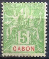 GABON                    N° 19                NEUF SANS GOMME - Unused Stamps