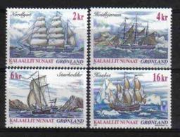 Greenland 2002 Tall Ships Y.T. 360/363 ** - Groenland