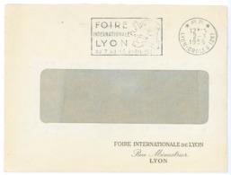 RHONE ENV 1956 LYON GROLEE OMEC SECAP EN P.P. PORT PAYE ENVOI EN NOMBRE - Marcophilie (Lettres)