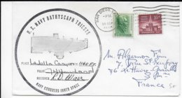 1966 - US NAVY - ENVELOPPE Du SOUS-MARIN BATHYSCAPHE TRIESTE - SUBMARINE - SAN DIEGO - Postal History