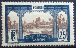 GABON                    N° 39                NEUF* - Unused Stamps