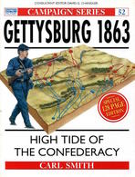American Civil War - Smith - Campaign 52 - Gettysburg 1863 - Ed. 1998 - Libri, Riviste, Fumetti