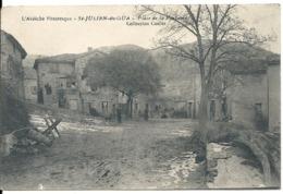 SAINT JULIEN DU GUA. PLACE DE LA FONTAINE - Autres Communes