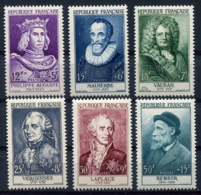 RC 14550 FRANCE N° 1027 / 1032 SERIE CÉLÉBRITÉS RENOIR COTE 90€ NEUF * - Unused Stamps