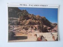 PETRA - Façades Street -  Al Aqaba - Jordanie