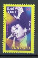 "FRANCE - BARBARA - N° Yvert 3396 Obli. RONDE DE ""VILLARS LES DOMBES 2001"" - France"
