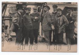 EXPEDITION FRANCAISE AU POLE SUD - MISSION CHARCOT - L'ETAT MAJOR DU POURQUOI PAS ? (ETAT) - Ships