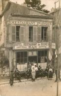 SOISSONS  Restaurant Des Ruines  Situé Rue Du Commerce - Carte Photo - - Soissons