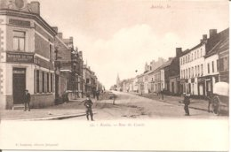 ANZIN (59) Rue De Condé (Dos Non Divisé) - Anzin
