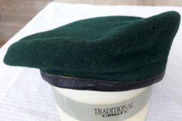 ANCIEN Beret VERT Para Légion Commando Nageur De Combat - Casques & Coiffures