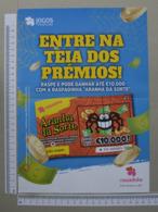PORTUGAL - CARTAZ DE RASPADINHA - A4 -  ARANHA DA SORTE -   2 SCANS     - (Nº32391) - Loterijbiljetten