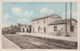 Gard - SAINT CEZAIRE Les Nimes - La Gare - Non écrite - Fente 5 Mm En Haut - Francia