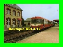 ACACF 134 - Autorail Caravelle X 4312 En Gare - ALENCON - Orne - SNCF - Gares - Avec Trains