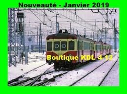 ACACF 589 - Autorail X 2404 En Gare - BORDEAUX SAINT-JEAN - Gironde - SNCF - Trains