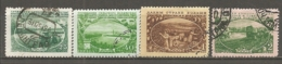 RUSSIE -  Yv N°   1545 à 1548  (o)  Agriculture Moderne   Cote  10   Euro  BE - 1923-1991 USSR