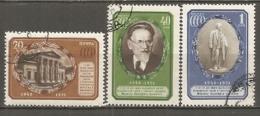 RUSSIE -  Yv N°   1553 à 1555  (o)  Kalinine   Cote  3,5   Euro  BE  2 Scans - 1923-1991 USSR