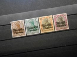 D.R.Mi 46**MNH/ 47/ 50 L/ 53 Ll*MLH  Deutsche Auslandspostämter (MAROKKO) 1911 - Mi 5,80 € - Offices: Morocco