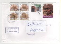 Beaux Timbres , Stamps   Sur Lettre , Enveloppe , Cover ,  Mail Du  ?? Pour La France - 1944-.... République
