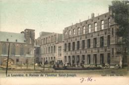Belgique - La Louvière - Ruines De L' Institut Saint-Joseph - Couleurs - La Louvière