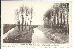 LE VIVIER Sur Mer - Promenade Du Chenal - Artaud - VENTE DIRECTE X - Autres Communes