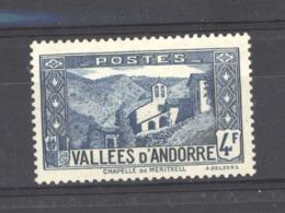 Andorre  :  Yv  89  ** - Nuevos