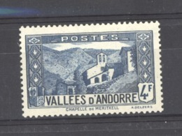 Andorre  :  Yv  89  ** - Neufs