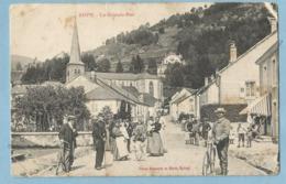 TH0231 CPA  RUPT-SUR-MOSELLE  (Vosges)  La Grande-Rue  - Animation ++++ - France