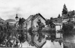 Ornans -   Miroir  Et  Bord  De  La  Loue. - France