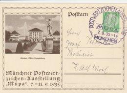 Allemagne Entier Postal Illustré 1935 - Allemagne