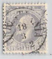 MiNr.3 O Norwegen - Gebraucht