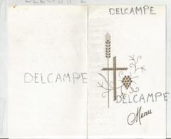 Communion De Valérie Le 8 Mai 1988 à Neufchâteau. - Menus