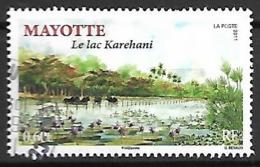 MAYOTTE    -   2011 .  Y&T N° 254 Oblitéré.   Le Lac Karehani. - Usados