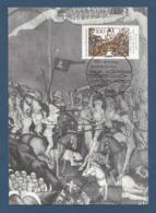 BRD 1991  Mi.Nr. 1511 , 750 Jahre Der Schlacht Bei Liegnitz - Maximum Card - S Bonn - Ausgabetag  09.04.1991 - Maximum Cards