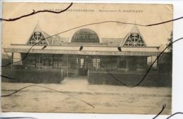 CPA. D78. Saint-Remy-les-Chevreuse . CAFÉ-RESTAURANT P MARCHAND. Buvette De La Gare . - St.-Rémy-lès-Chevreuse