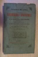 CATALOGUE DES LIVRES BIBLIOTHEQUE LINGUISTIQUE MARQUIS DE LA FERTE SENECTERE 1873 - 1801-1900