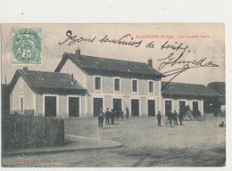 09 SAINT GIRONS LA NOUVELLE GARE CPA BON ETAT - Saint Girons