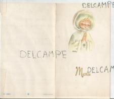 Communion De Dominique Le 6 Mai 1973 à Angleur. - Menus