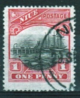 Niue 1925 Single 1d Stamp Taken From The Definitive Series. - Niue