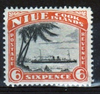 Niue 1932 6d Penny Stamp Taken From The Definitive Series. - Niue