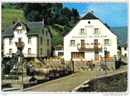 """Carte Postale 68.  Le Bonhomme   Hotel-Restaurant  """"Au Lion D'Or""""   Blaise-Minoux  Prop.   Trés Beau Plan - Non Classés"""
